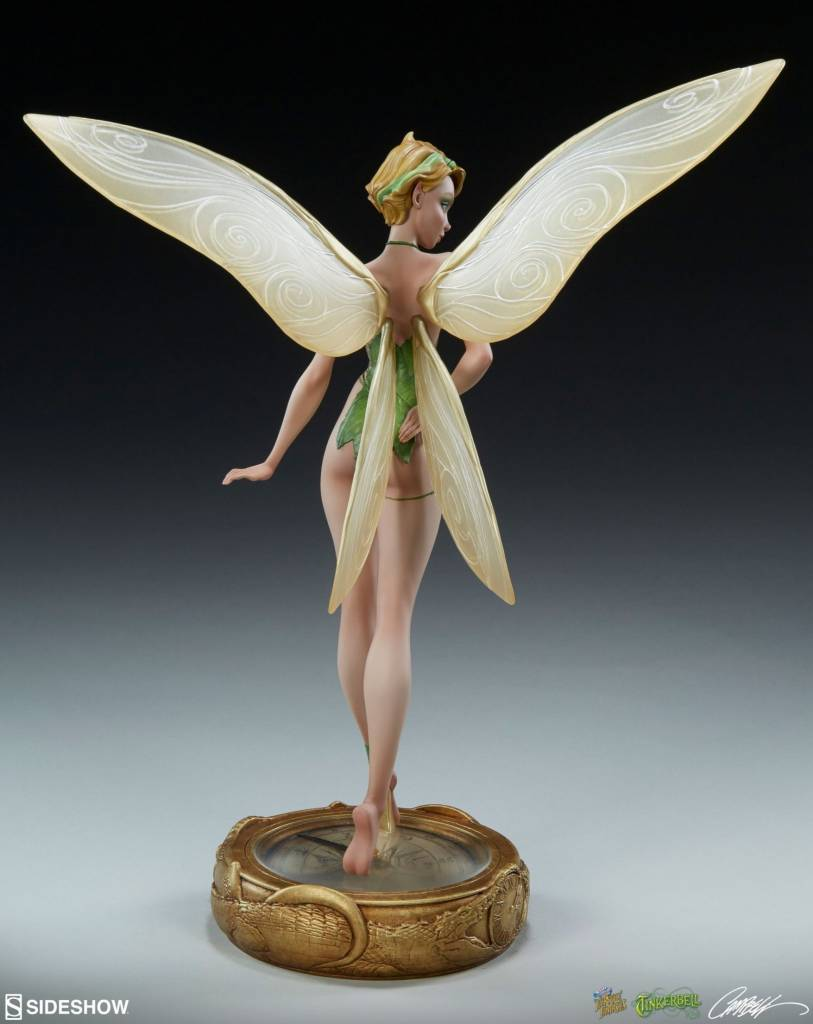 Sideshow Disney: Fairytale Fantasies - Peter Pan - Tinkerbell 12 inch Statue