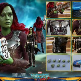 Hottoys Marvel: Guardians of the Galaxy 2 - Gamora 1:6 Scale Figure