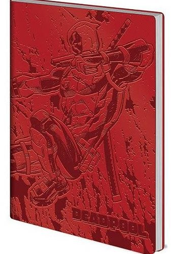 Marvel Deadpool Action - Flexi-Cover A5 Notebook