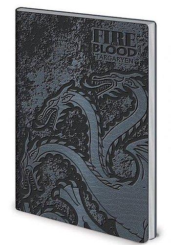 Game of Thrones Stark & Targaryen - Flexi-Cover A5 Notebook