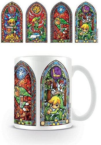 The Legend Of Zelda Stained Glass - Mug