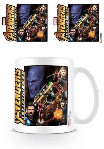 Avengers Infinity war Space Montage - Mug