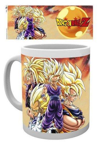 Dragon Ball Z Super Saiyans - Mug
