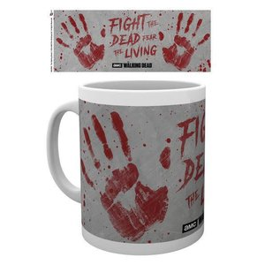Hole In The Wall The Walking Dead Hand Prints - Mug