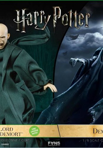 Harry Potter: Dementor with Lord Voldermort 1:8 Scale Twin Pack