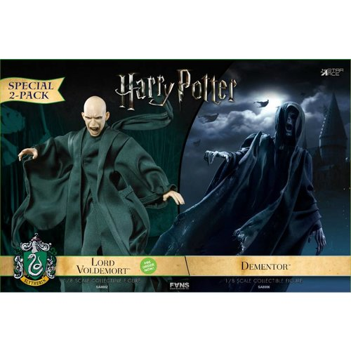 Star Ace Harry Potter: Dementor with Lord Voldermort 1:8 Scale Twin Pack