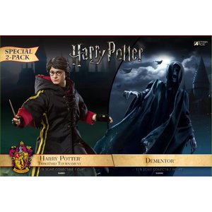 Star Ace Harry Potter: Dementor with Harry Potter 1:8 Scale Twin Pack