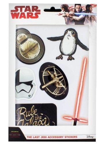 Star Wars The Last Jedi: Accessory Stickers