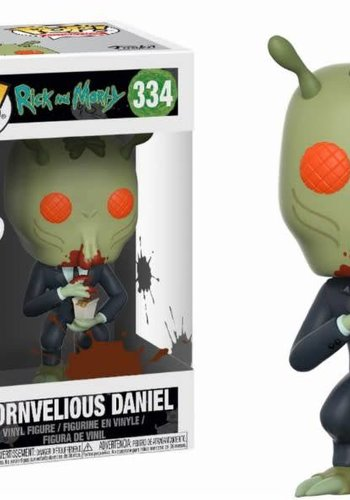 Pop! Cartoons: Rick and Morty - Cornvelious Daniel with Mulan Sauce