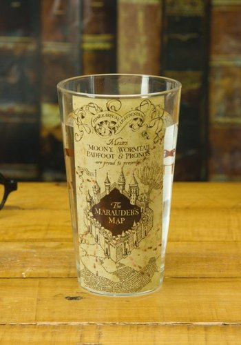 Harry Potter: Marauders Map Water Glass
