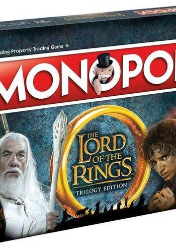 MONOPOLY - LORD TO THE RING (UK) Engels