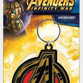 Hole In The Wall Avengers Infinity War Avengers Symbol - Keyring