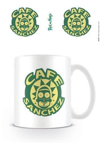 Rick and Morty Cafe Sanchez - Mug