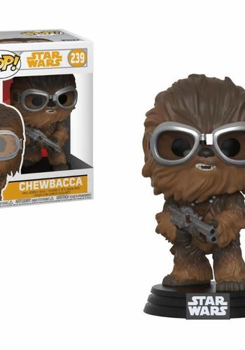 Pop! Star Wars: Han Solo Movie - Chewbacca with Goggles