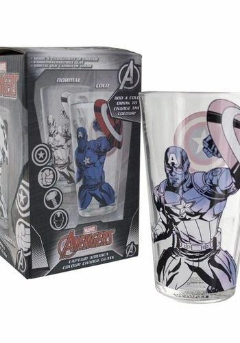 Marvel: Captain America Colour Change Glass