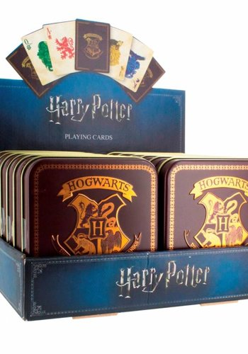 Harry Potter: Hogwarts Playing Cards Version 2 Sold per one tin box