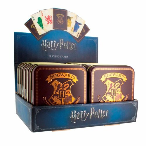 Paladone Harry Potter: Hogwarts Playing Cards Version 2 Sold per one tin box