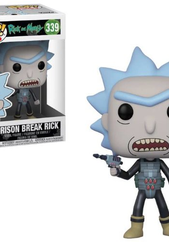 Pop! Cartoons: Rick and Morty - Prison Escape Rick