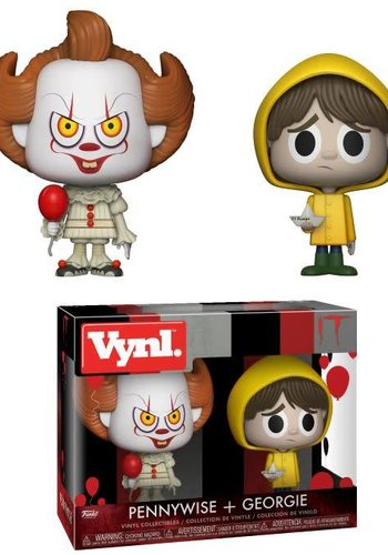 Vynl Movies: IT - Pennywise and Georgie 2-Pack