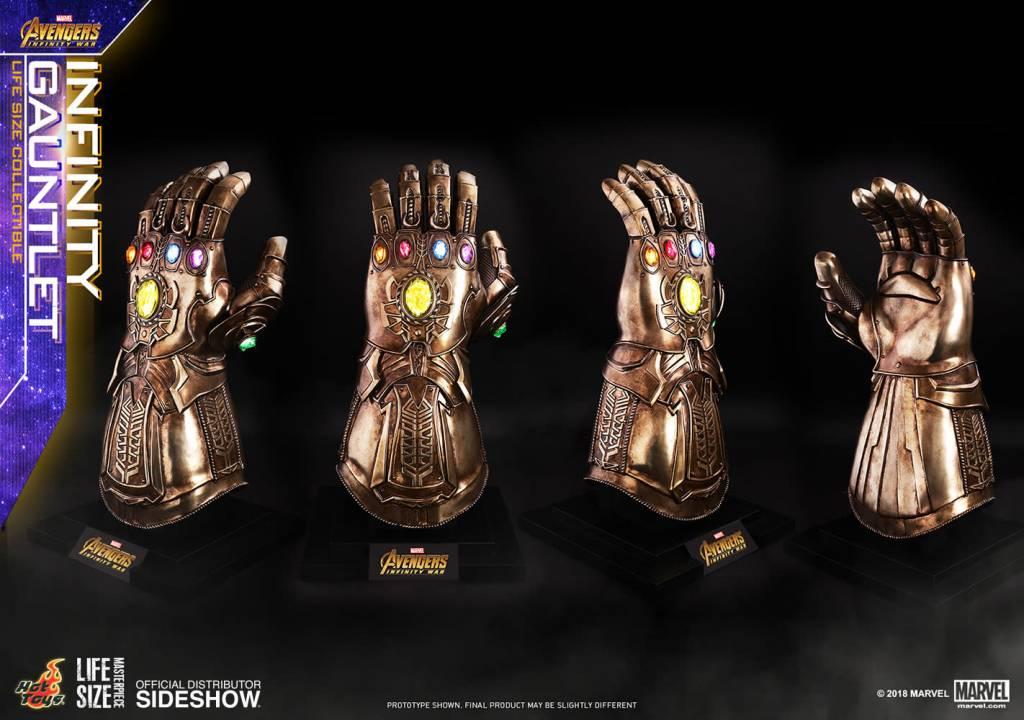 Hottoys Marvel: Avengers Infinity War - Infinity Gauntlet Prop Replica