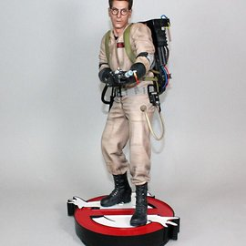 Hollywood Collectibles Ghostbusters: Egon Spengler 1:4 Scale Statue