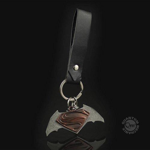 Quantum Mechanix Batman vs Superman Friendship Key Chain