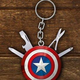 Paladone Marvel: Avengers Captain America Multi Tool Keychain