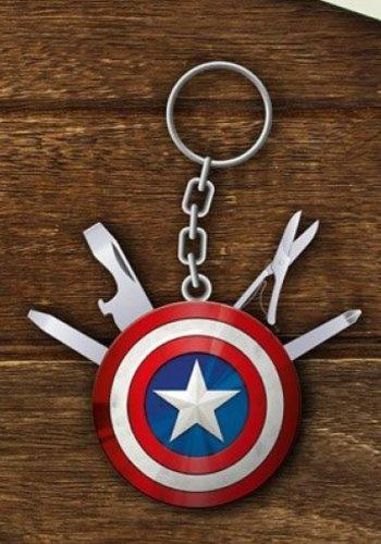 Marvel: Avengers Captain America Multi Tool Keychain