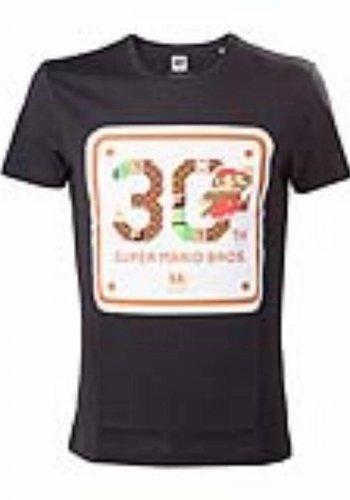 Nintendo - T-shirt Black 30th Anniversary