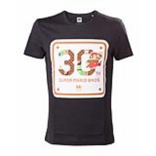 Bioworld Nintendo - T-shirt Black 30th Anniversary
