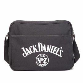 Jack Daniel's - Old No.7 Logo Black Canvas Messenger bag