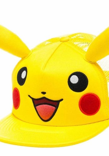 Pikachu with Ears Yellow Snapback