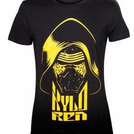 Bioworld Kylo Ren Yellow Print T-Shirt
