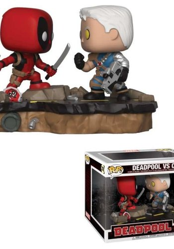 Pop! Marvel: Movie Moments - Deadpool vs Cable 2-Pack