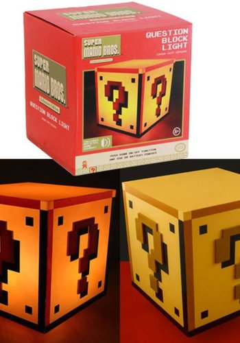 Super Mario Bros: Question Block Light