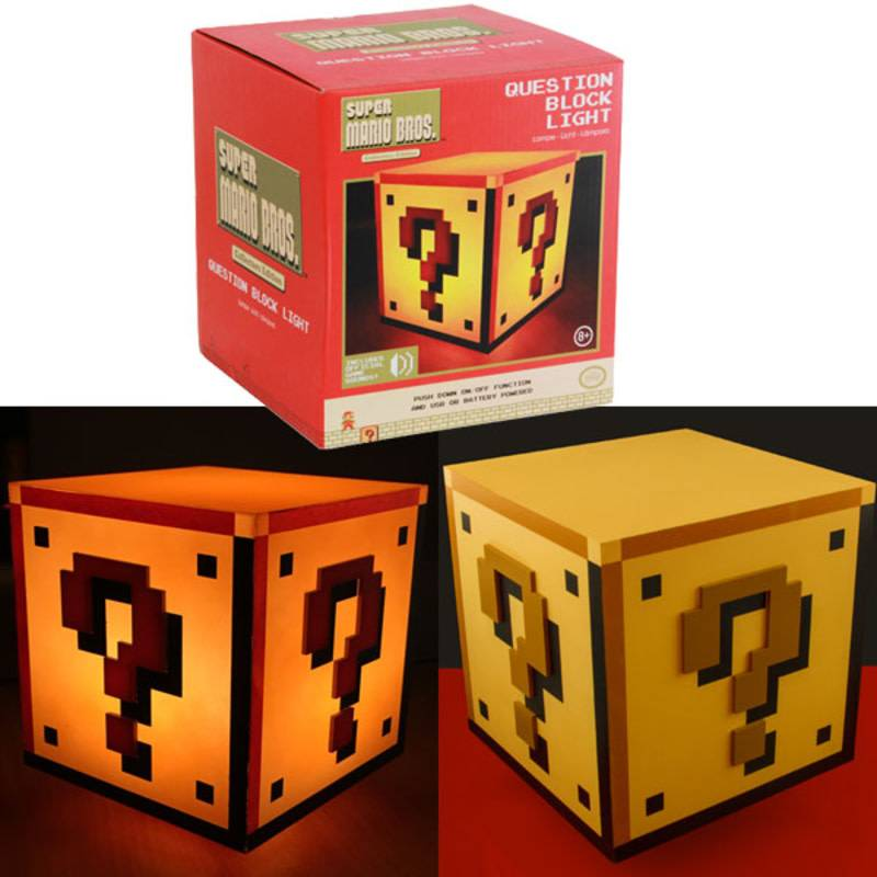 Paladone Super Mario Bros: Question Block Light