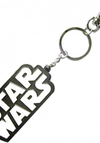 Star Wars Logo Metal Keychain 5 Cm