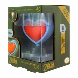 Paladone The Legend of Zelda: Heart Container 3D Light