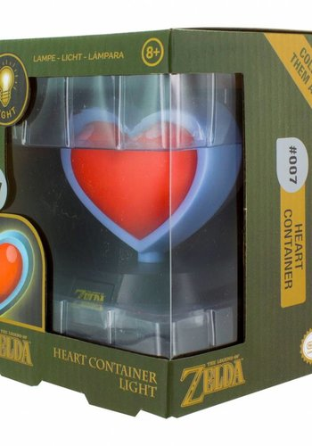 The Legend of Zelda: Heart Container 3D Light