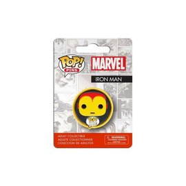 FUNKO MARVEL COMICS POP! PINS BADGE IRON MAN