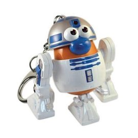 Star Wars R2-D2 Mr. Potato Head Key Chain