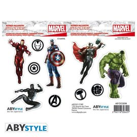 Abysse Corp MARVEL -Stickers - 16x11cm/ 2 sheets - Avengers