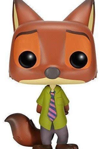 Nick Wilde Pop Disney Zootopia Figure
