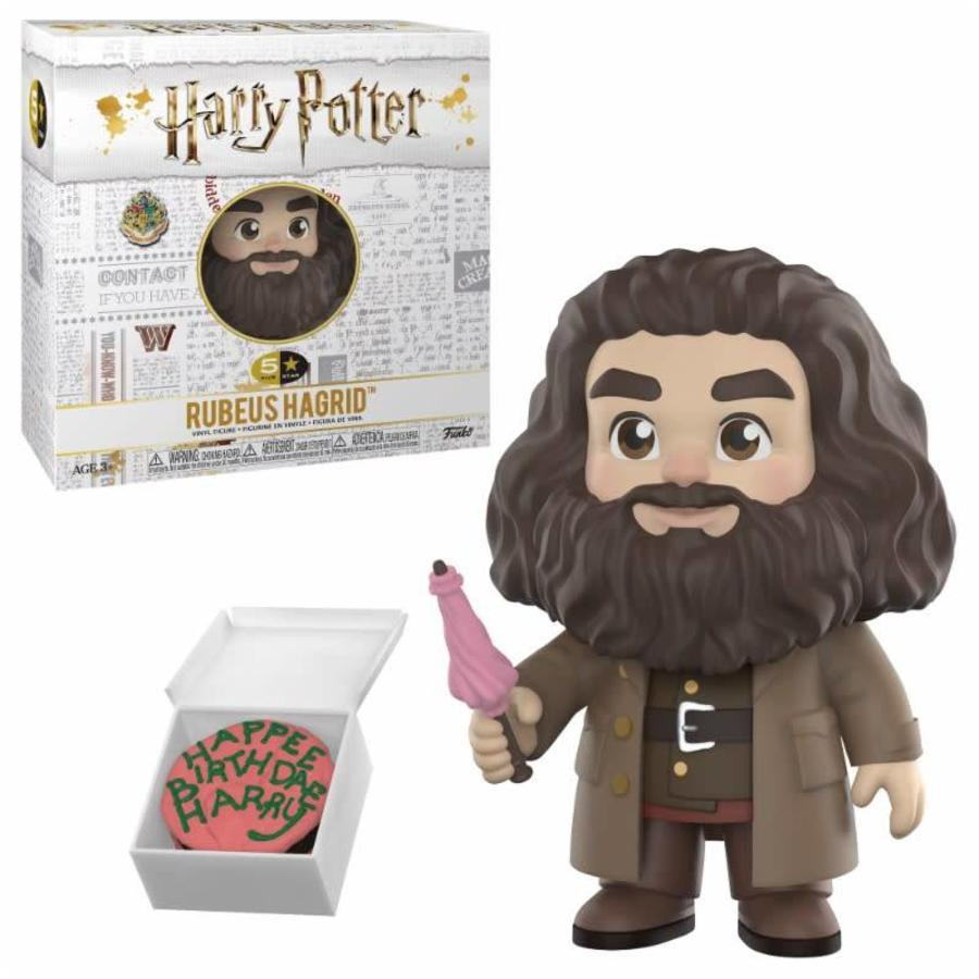 5 Star Harry Potter: Rubeus Hagrid Action Figure
