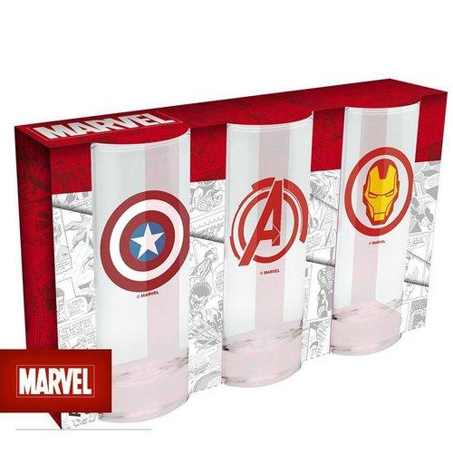 Abysse Corp MARVEL - 3 glasses set