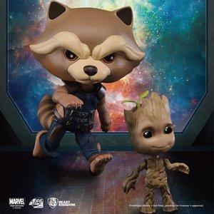 Beast Kingdom MARVEL - Guardians of the Galaxy Vol.2: Rocket & Groot
