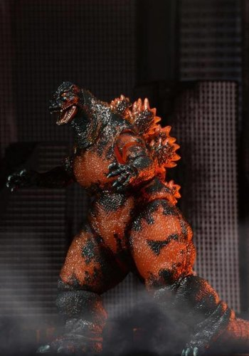 Godzilla: Classic '95 Burning Godzilla 12 inch Head to Tail AF
