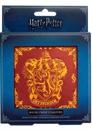 Harry Potter: Hogwarts Crest Coasters Version 2