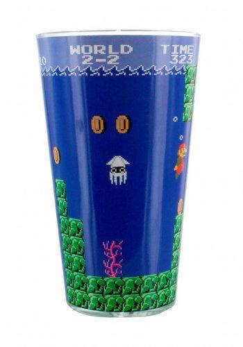 Super Mario Bros: Super Mario Bros Glass
