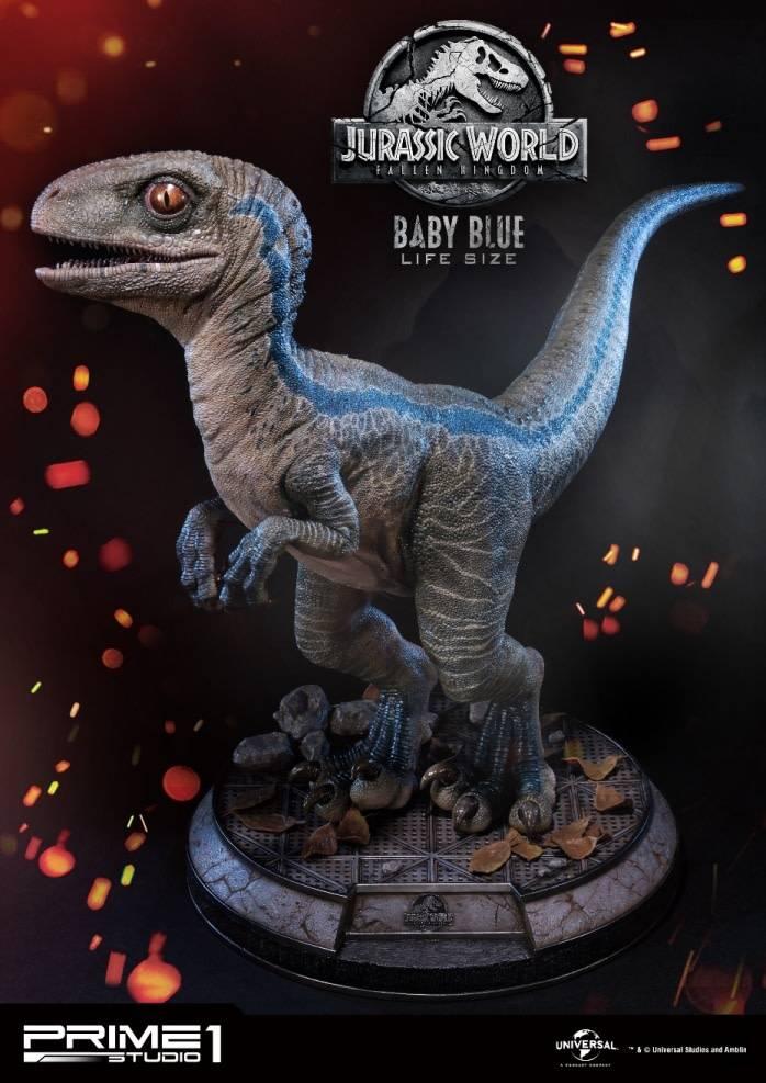 prime1 Jurassic Park: Fallen Kingdom - Baby Blue Statue